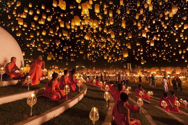 lanterne volante - Lanterne Volante Mariage
