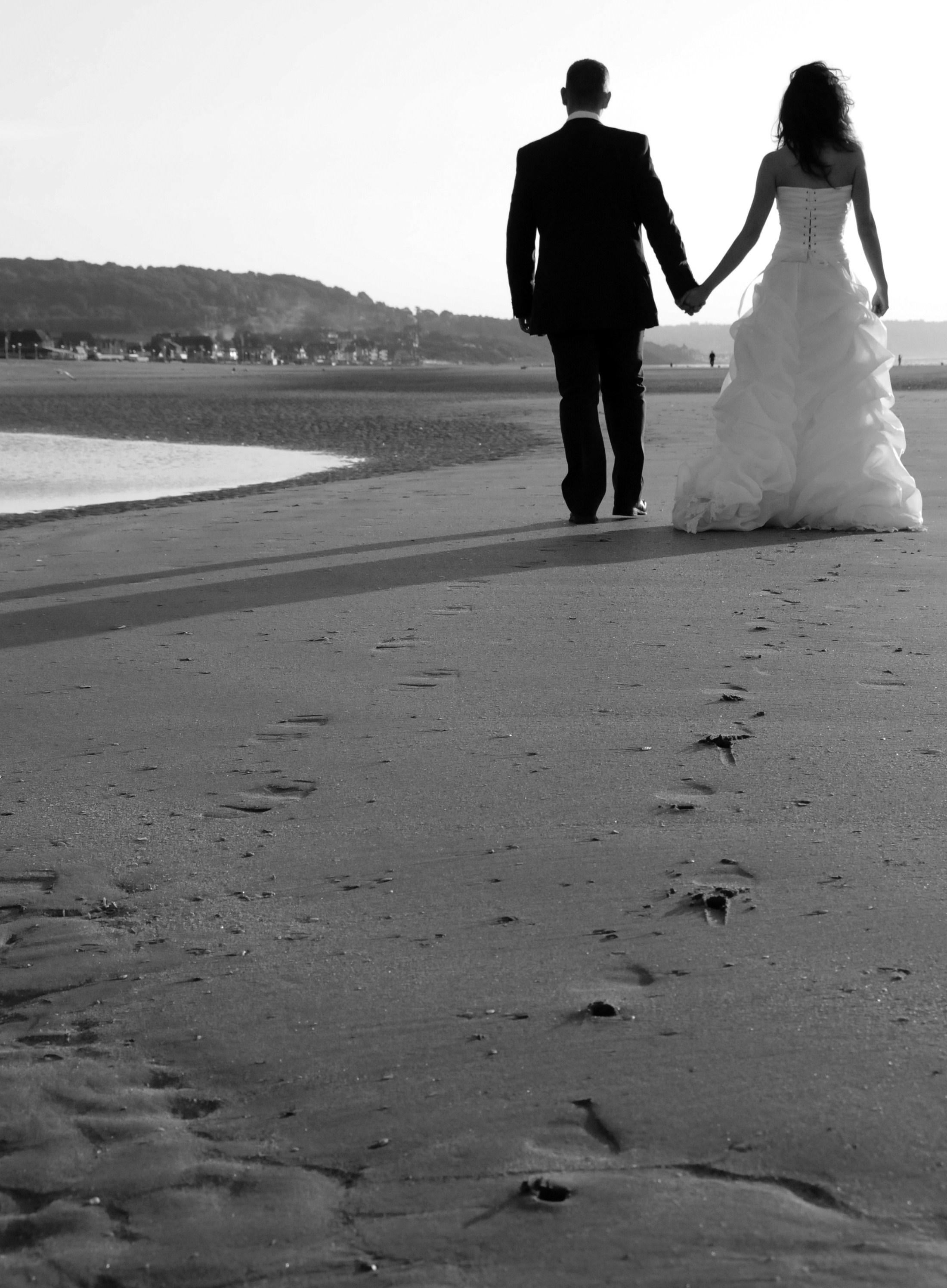 magnifiques photos de mariage en noir et blanc mariage. Black Bedroom Furniture Sets. Home Design Ideas