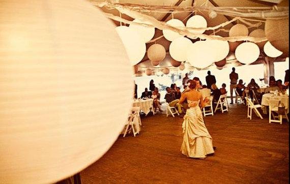 lanterne en papier pour mariage