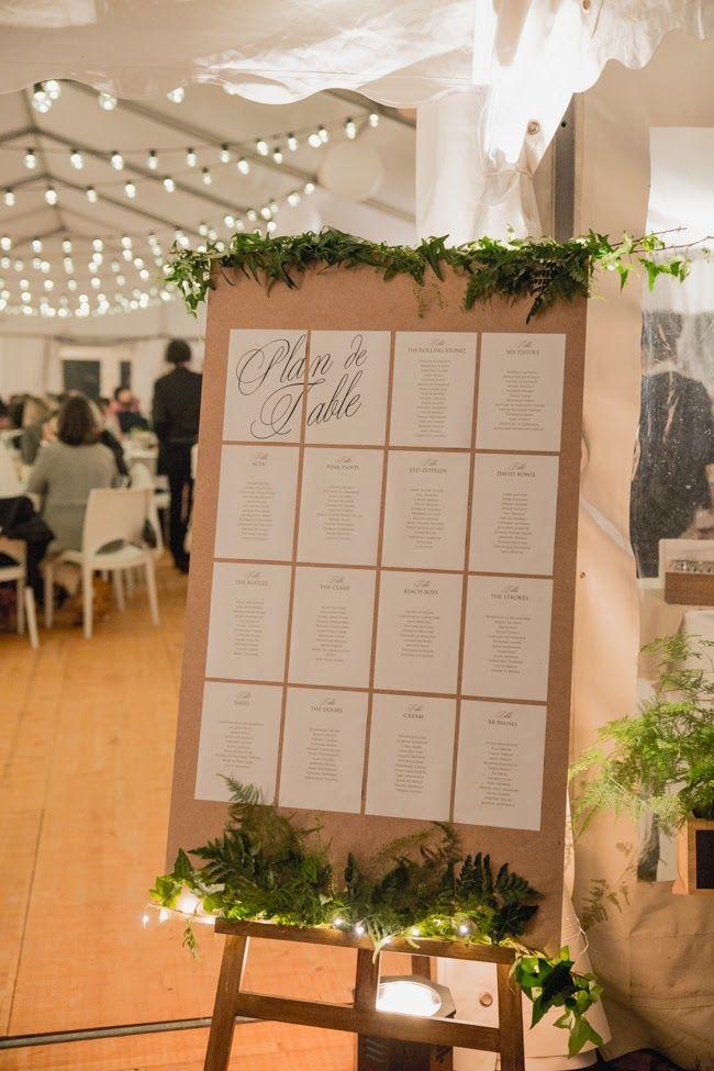 des id es simples et originales pour vos noms de table mariage en vogue. Black Bedroom Furniture Sets. Home Design Ideas