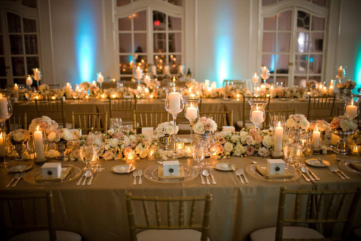 Idée de décoration de mariage or – Mariage en Vogue
