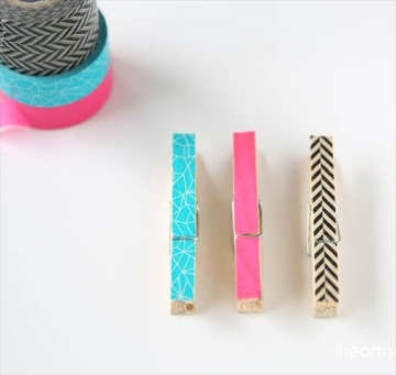 diy-washi-tape-clothespins