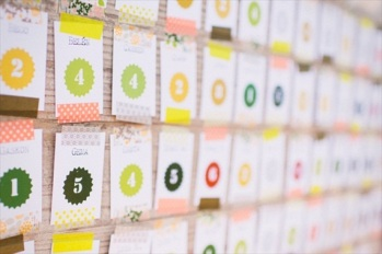 washi-tape-escort-card-display