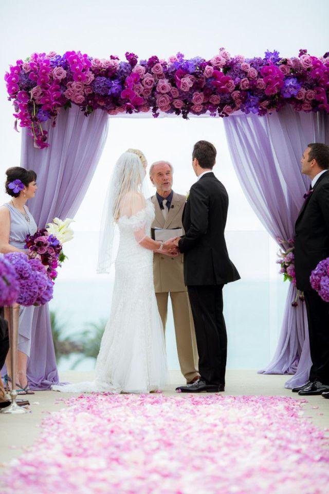 arche-mariage-violette