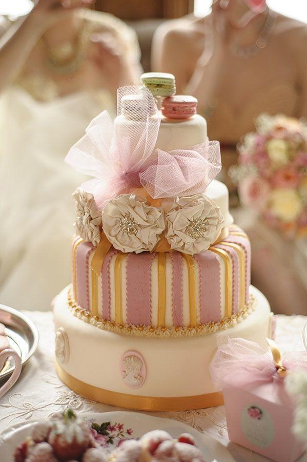 Une décoration de mariage sur la gourmandise – Mariage en Vogue